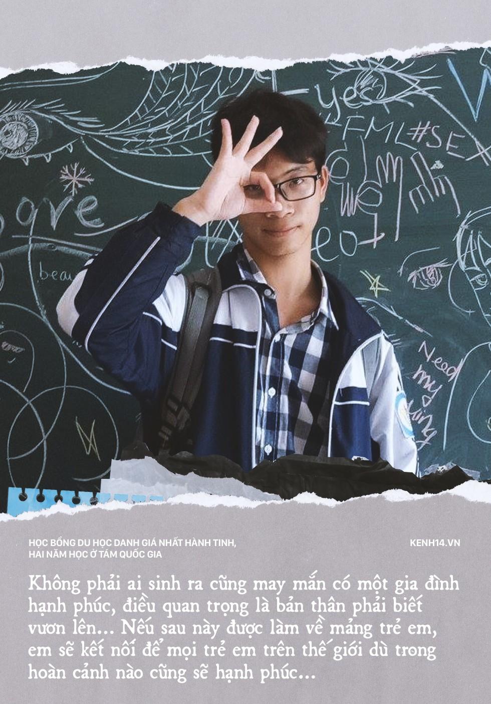Mới học lớp 10, cậu bạn Nghệ An giành học bổng danh giá nhất hành tinh: 2 năm du học 8 quốc gia - Ảnh 2.
