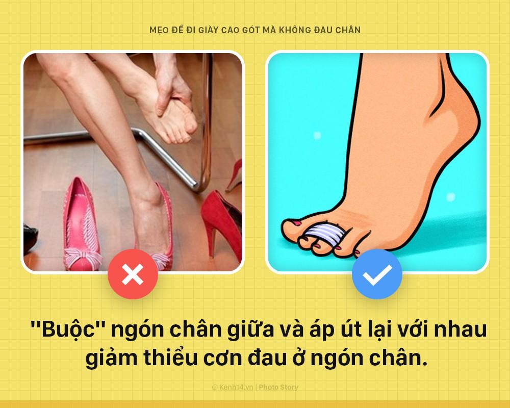 Muốn đi giày cao gót mà không sợ đau chân, nữ giới áp dụng không cần nghĩ ngay chùm mẹo vặt này - Ảnh 4.