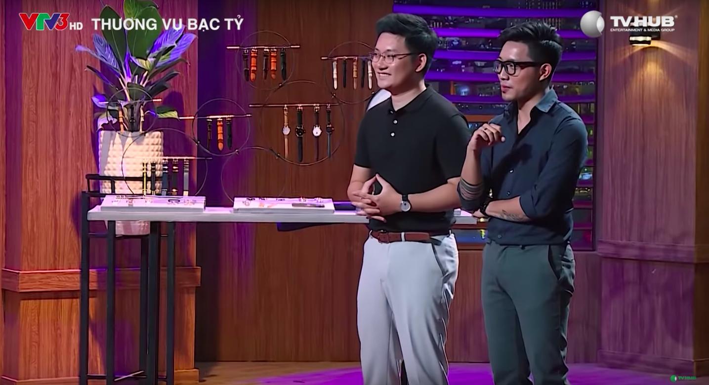 Hai chàng trai 9x gọi được 5 tỷ cho thương hiệu đồng hồ tại Shark Tank tuần này - Ảnh 2.