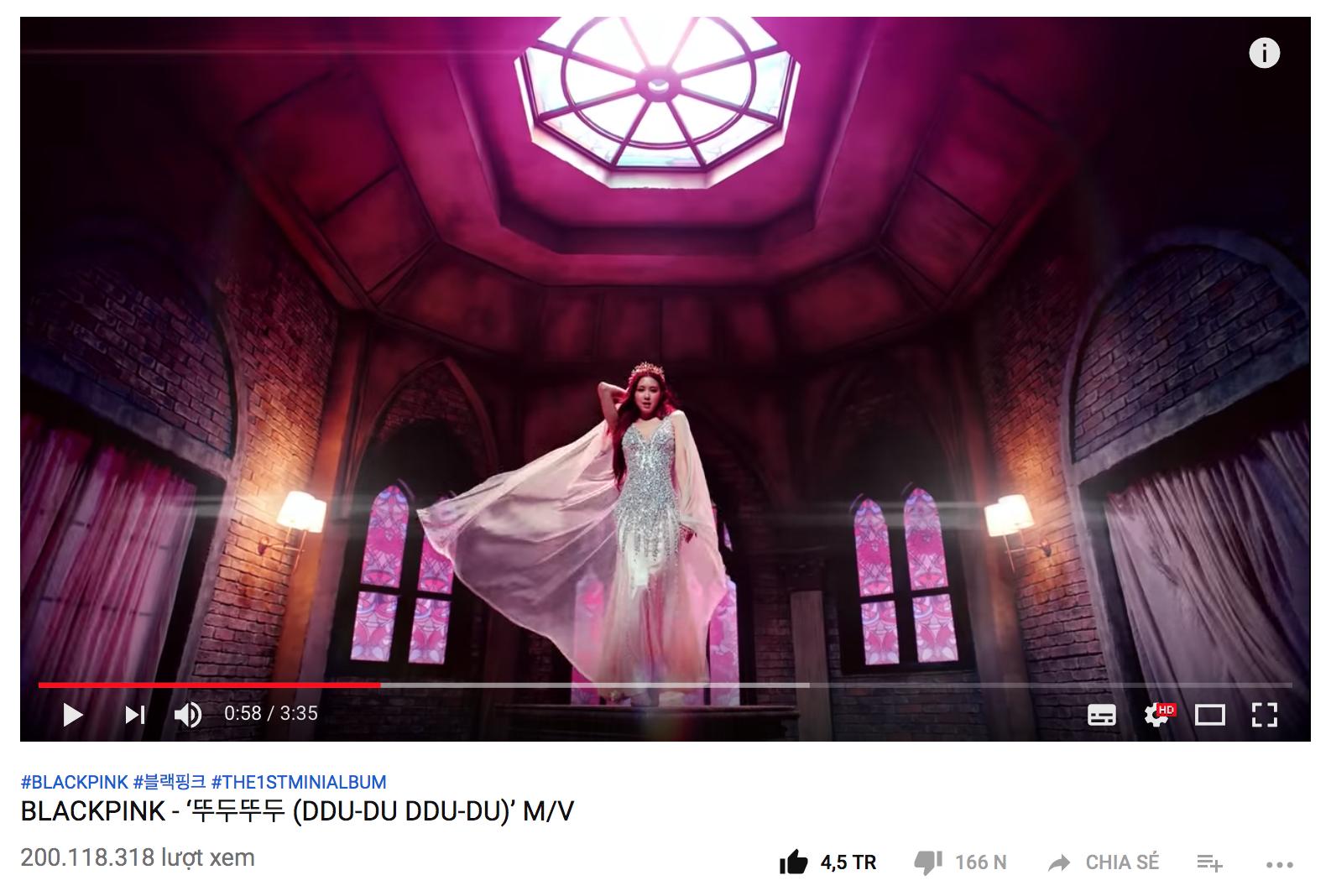 MV mới của Black Pink đạt 200 triệu view, tiếp tục phá kỉ lục của BTS - Ảnh 1.