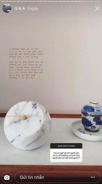 Người yêu mới của Huỳnh Anh nói gì khi bạn trai vẫn giữ ảnh của Hoàng Oanh trên MXH? - Ảnh 4.