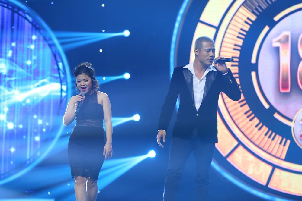 Nhạc hội song ca: Mang hit Cô gái mét 52 lên sân khấu, Kay Trần chiến thắng Mr.T với số điểm sát nút - Ảnh 11.