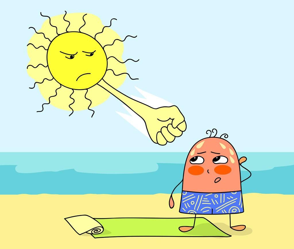 Kết quả hình ảnh cho trời nắng nóng