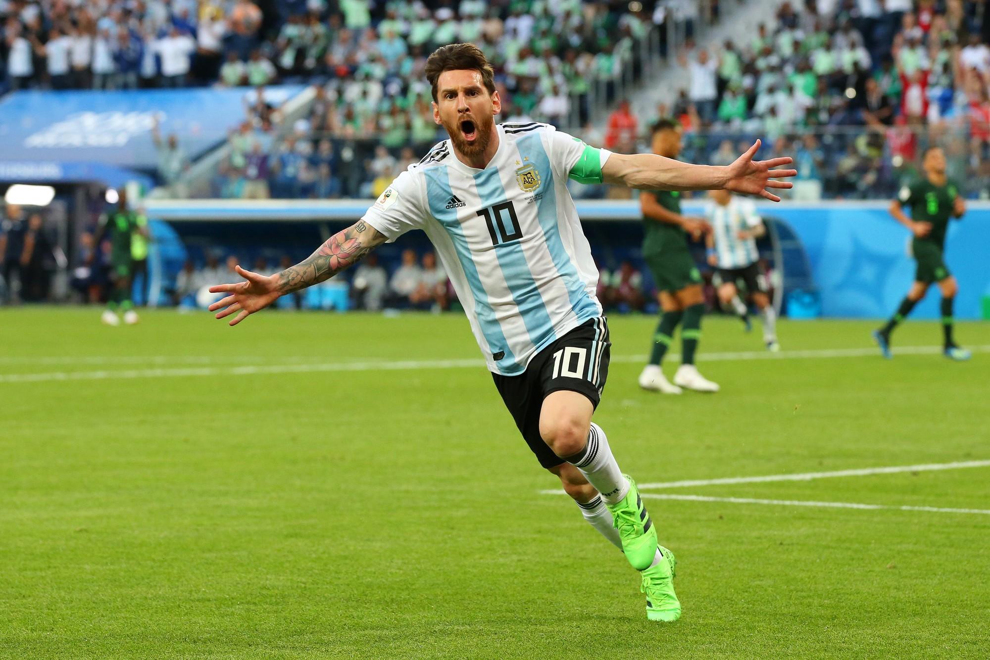 Mbappe của Pháp vô địch World Cup, nhưng Messi mới là cái tên được tế