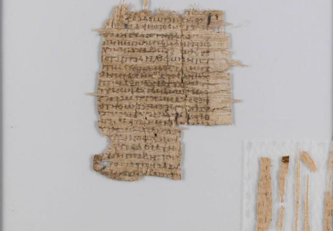 Bí mật tờ văn tự cổ viết trên giấy cói niên đại 2.000 năm tuổi đã được giải đáp: hóa ra là chữ bác sĩ - Ảnh 1.