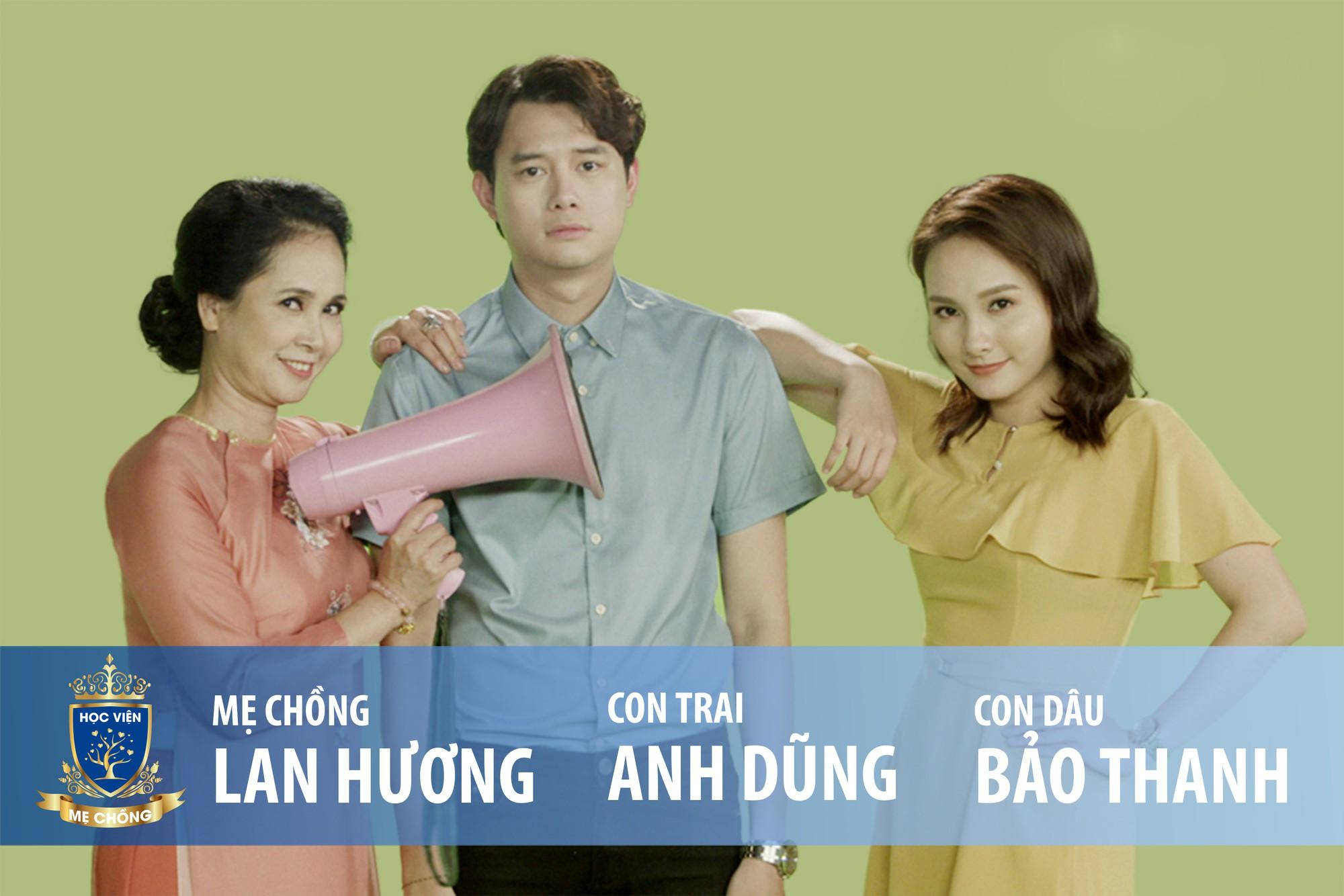 Học Viện Mẹ Chồng - Bộ 3 'Sống chung với mẹ chồng' ra mắt show truyền hình 'Học viện mẹ chồng'