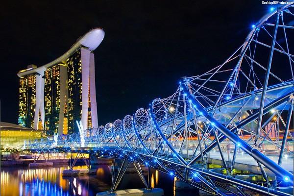 Bên cạnh cầu Vàng Đà Nẵng, còn có 5 cây cầu khác khiến cả thế giới thích thú vì thiết kế độc đáo, ấn tượng - Ảnh 9.