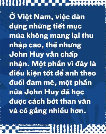 Biên đạo múa John Huy Trần: Hãy duy trì ngọn lửa đam mê dù lớn hay nhỏ, để ít ra chúng ta biết nó vẫn còn đang cháy - Ảnh 6.