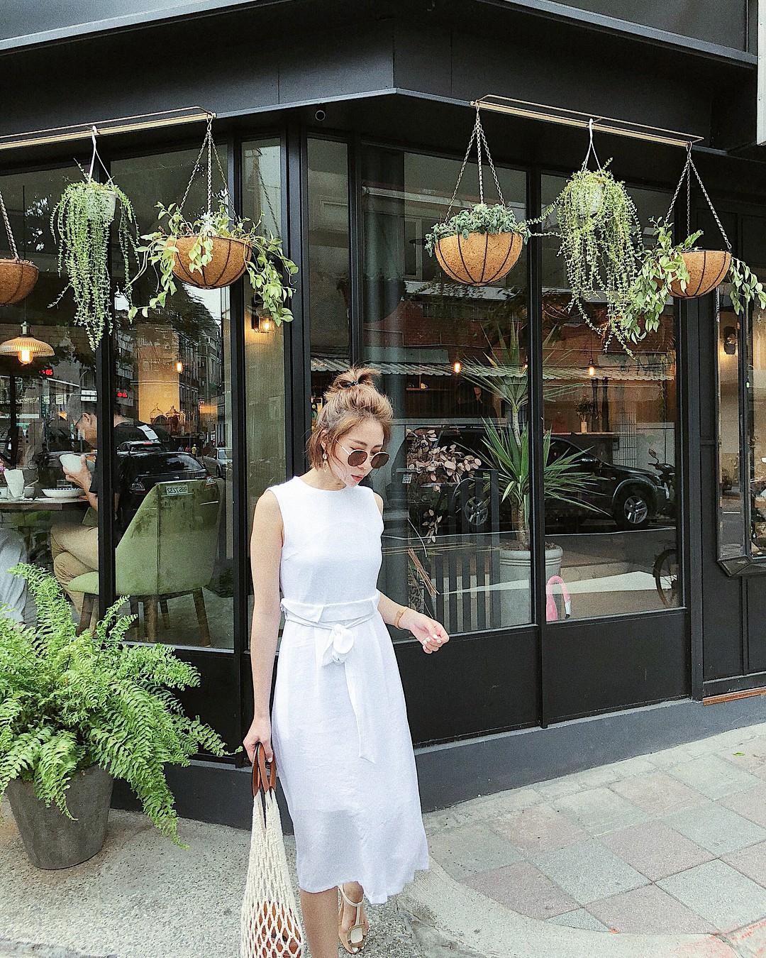 Gợi ý 5 mẫu váy thanh lịch, trang nhã cho các nàng đi dự đám cưới mà không sợ nổi hơn cô dâu - Ảnh 11.