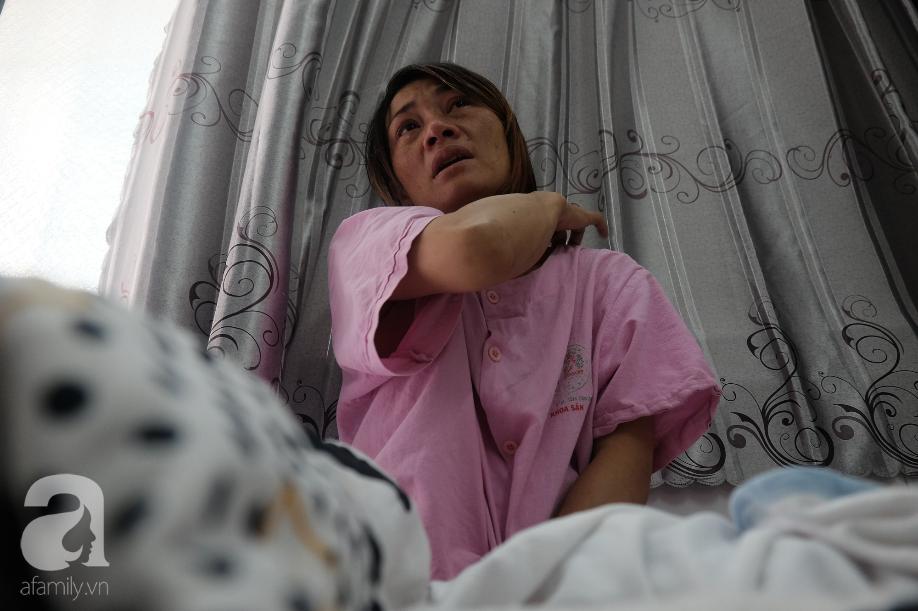 Theo lời chị Thắm, khi thai được 4 tháng thì chồng chị đã dẫn người mới về nhà.