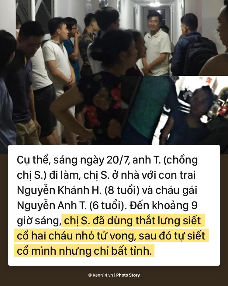 Toàn cảnh nghi án mẹ siết cổ con và cháu tử vong gây chấn động ở Hà Nội - Ảnh 5.