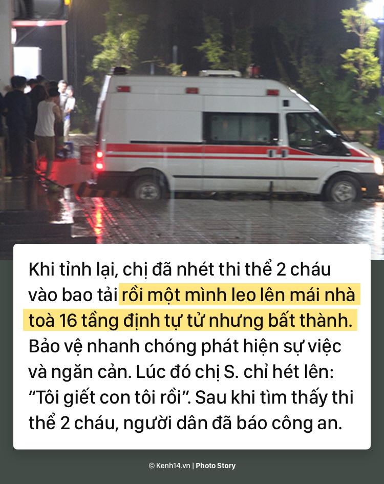 Toàn cảnh nghi án mẹ siết cổ con và cháu tử vong gây chấn động ở Hà Nội - Ảnh 7.