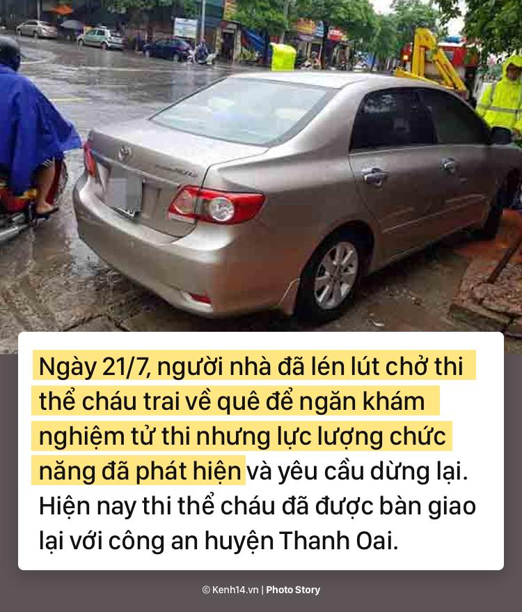 Toàn cảnh nghi án mẹ siết cổ con và cháu tử vong gây chấn động ở Hà Nội - Ảnh 9.