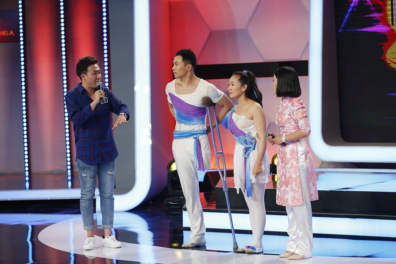 Người bí ẩn: 2 nghệ sĩ khuyết tật người Trung Quốc tái hiện tiết mục từng gây sốt trên thế giới - Ảnh 4.