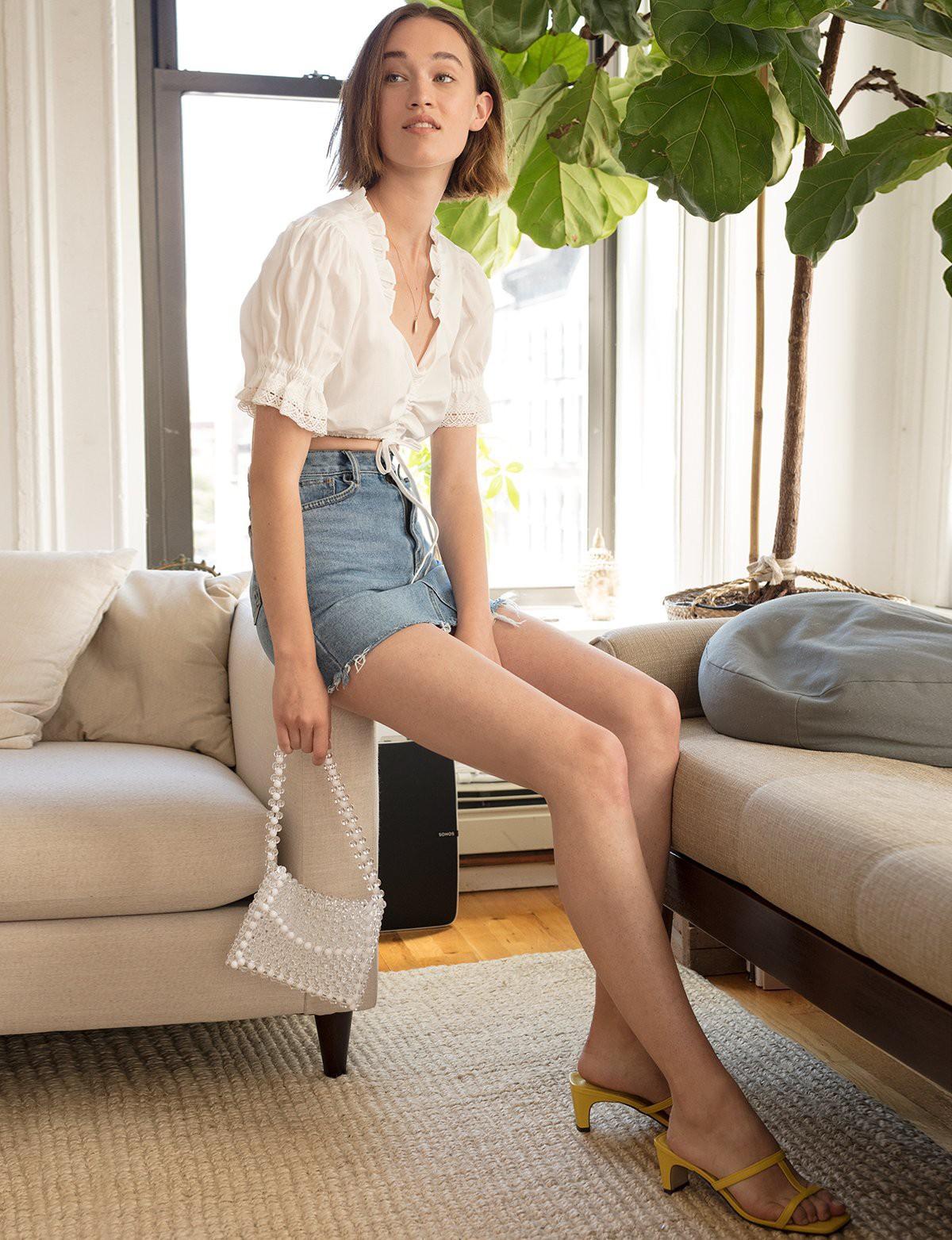 10 kiểu áo blouse hot nhất hiện nay, ngắm rồi chỉ muốn sắm cho bằng hết để mặc - Ảnh 12.