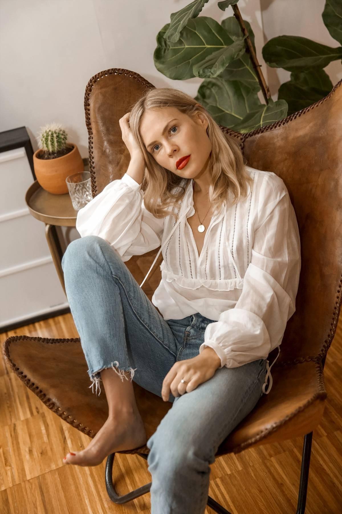 10 kiểu áo blouse hot nhất hiện nay, ngắm rồi chỉ muốn sắm cho bằng hết để mặc - Ảnh 5.