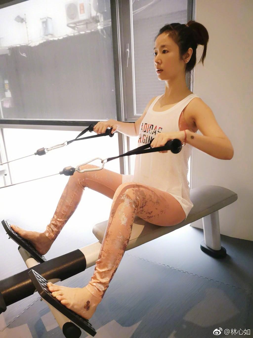 Đua với Triệu Vy, Lâm Tâm Như quyết tâm tập luyện và ăn uống healthy để sở hữu vóc dáng mình dây - Ảnh 2.