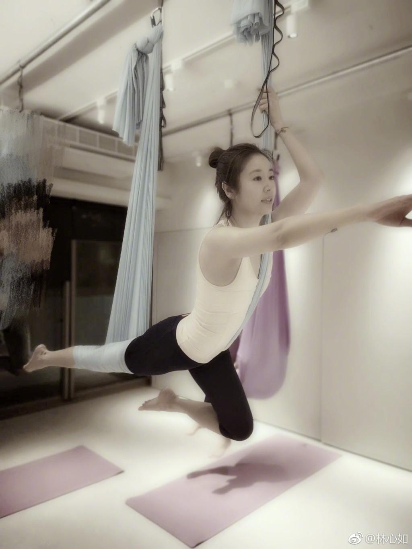 Đua với Triệu Vy, Lâm Tâm Như quyết tâm tập luyện và ăn uống healthy để sở hữu vóc dáng mình dây - Ảnh 4.