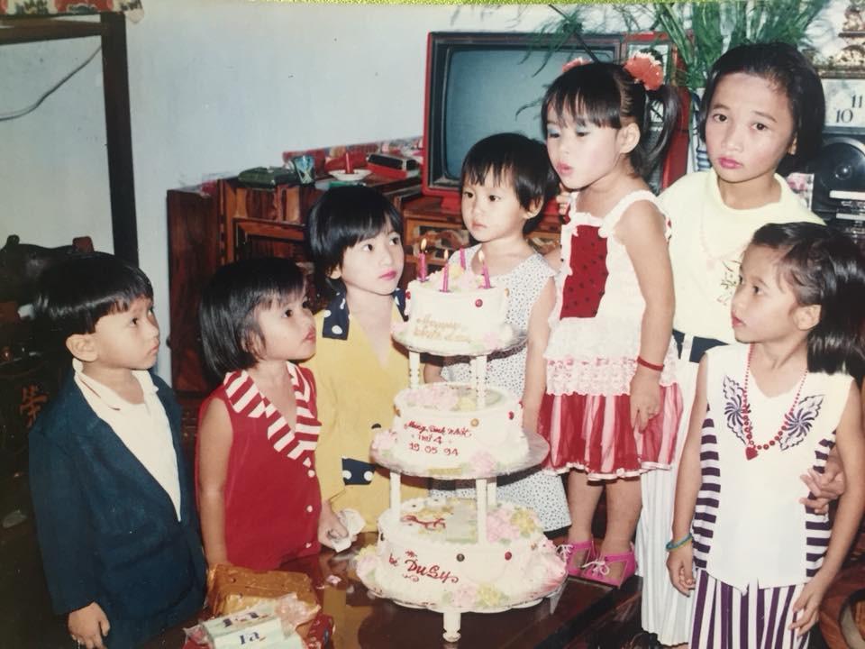 Ngày xưa sinh nhật mà đã có bánh gato 3 tầng thì bạn đích thị là richkid rồi! - Ảnh 1.