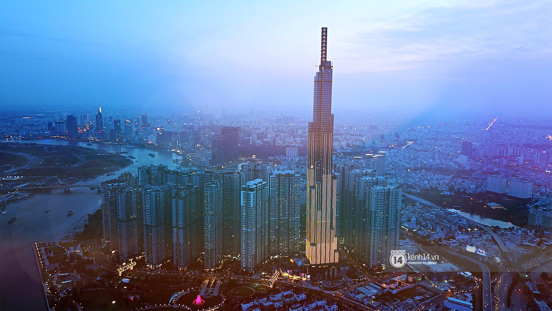 Toàn cảnh Landmark 81 - toà nhà cao nhất Việt Nam ngay trước ngày đi vào hoạt động - Ảnh 1.
