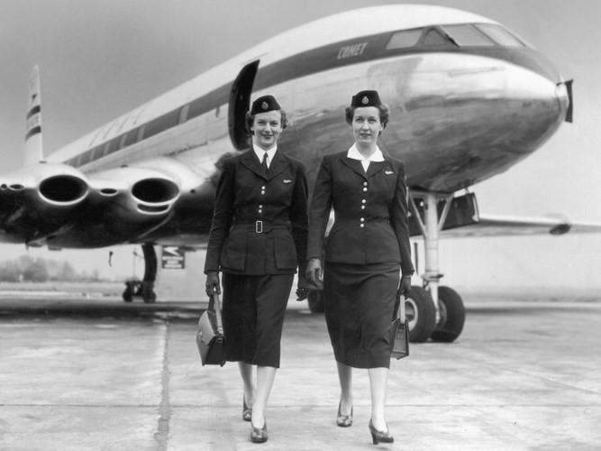 Hình ảnh cho thấy những đổi thay trong các chuyến bay xưa và nay - Ảnh 30.