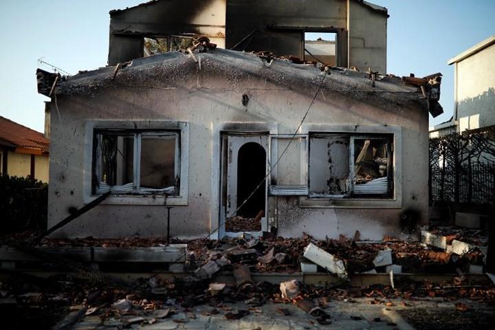 Cảnh tang thương rợn người sau thảm họa cháy rừng Hy Lạp - Ảnh 2.