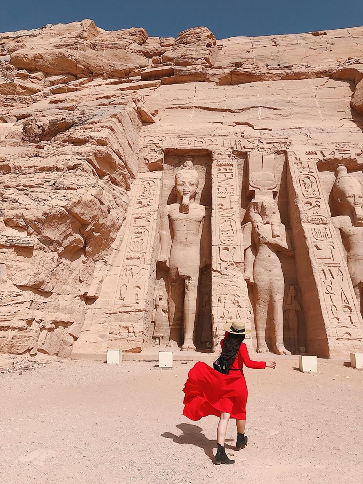 Bộ ảnh du lịch Ai Cập của cô bạn xinh đẹp: Xem xong sẽ thấy rất đáng để ước mơ ghé thăm một lần - Ảnh 2.
