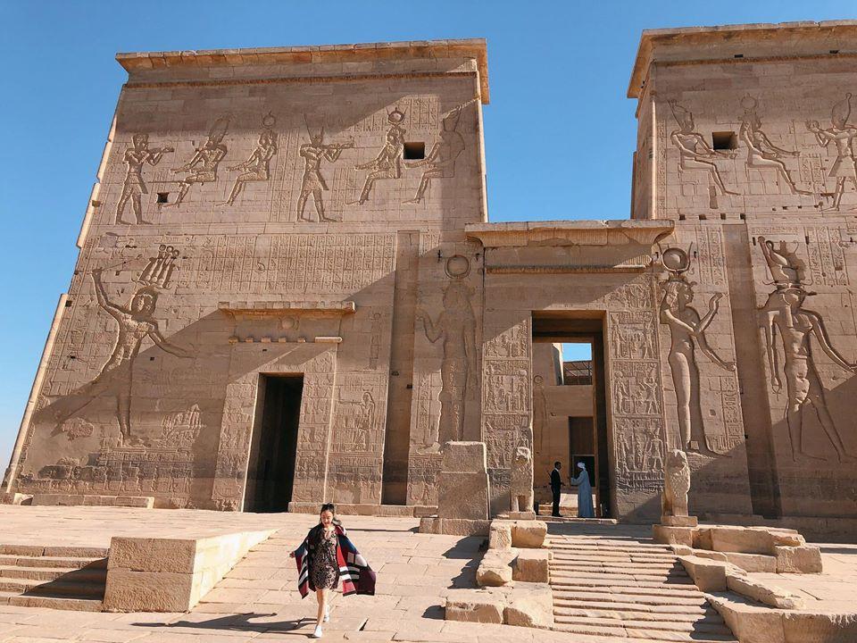 Bộ ảnh du lịch Ai Cập của cô bạn xinh đẹp: Xem xong sẽ thấy rất đáng để ước mơ ghé thăm một lần - Ảnh 14.