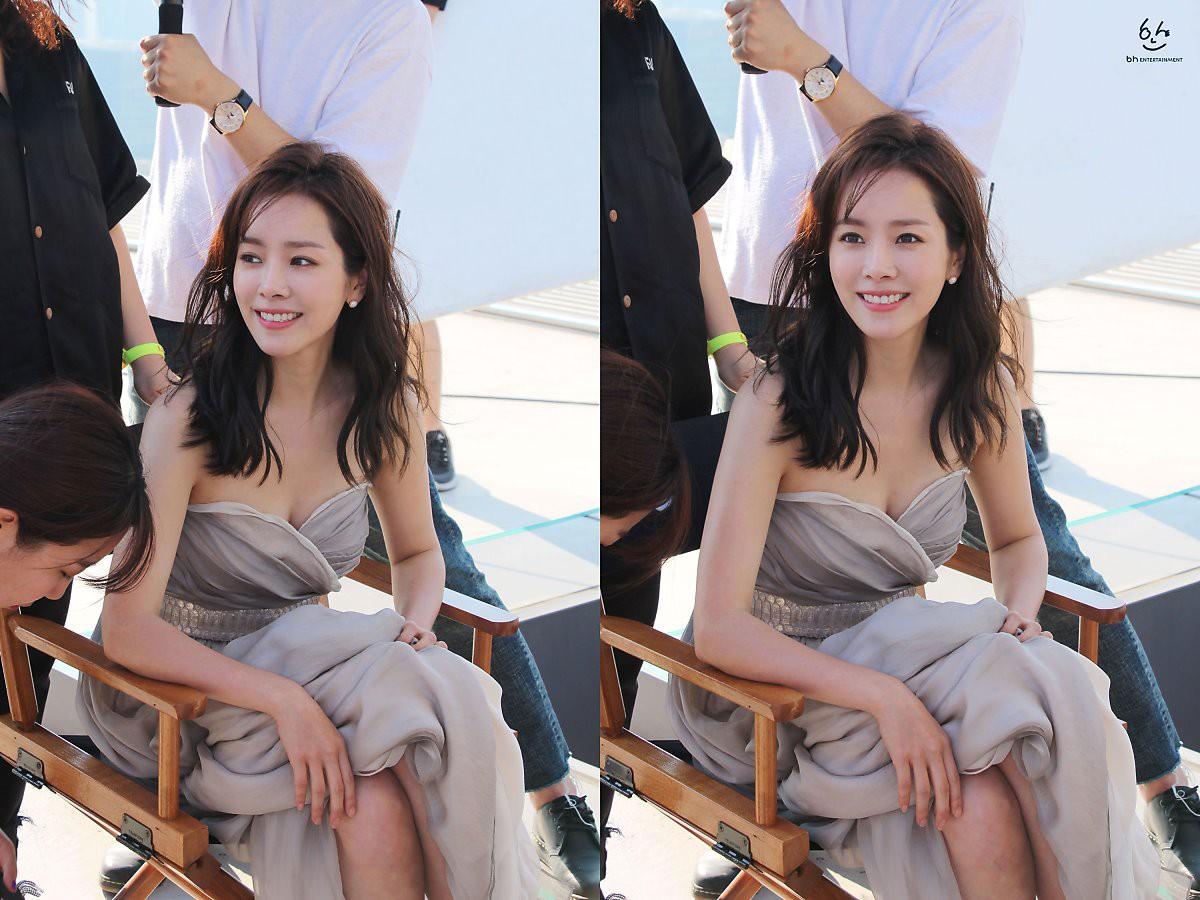 Nhìn Han Ji Min trước và sau khi lên đồ, mới thấy các chị em cứ biến hình là không thể đùa được! - Ảnh 10.