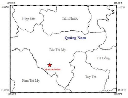 Liên tiếp xảy ra 6 trận động đất trong 3 ngày ở Quảng Nam - Ảnh 1.