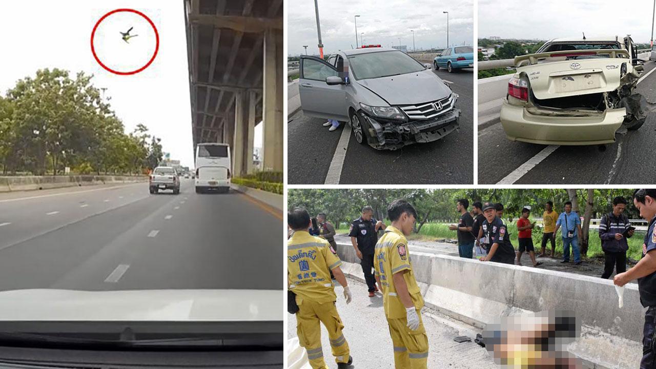 Hình ảnh khác của vụ tai nạn.