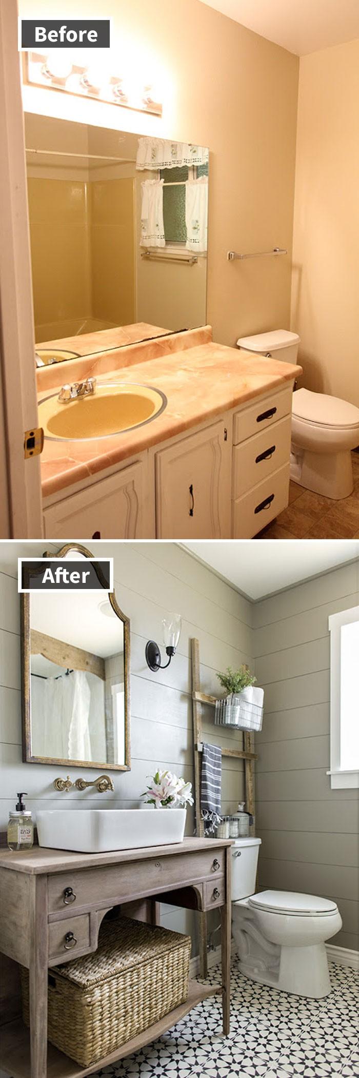 Những hình ảnh trước và sau khi phòng cũ được phù phép thành phòng mới khiến quý khách chẳng thể tin vào mắt mình - Ảnh 4.