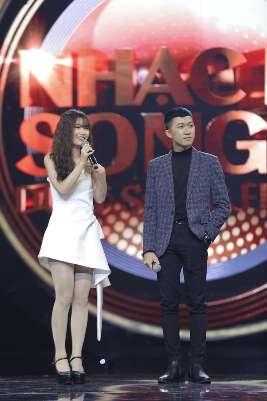 Nhạc hội song ca: Búp bê Hàn Han Sara hát tiếng Việt cực siêu vẫn chưa may mắn ngồi ghế vàng - Ảnh 3.