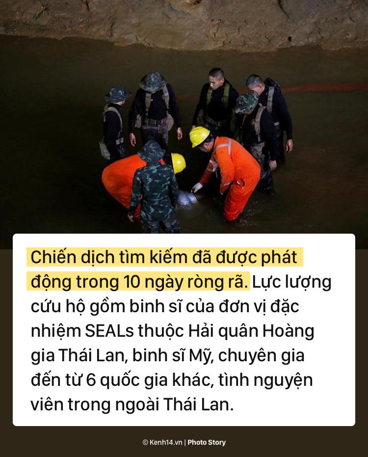 Những khó khăn chồng chất trong suốt nửa tháng giải cứu đội bóng Thái Lan - Ảnh 7.