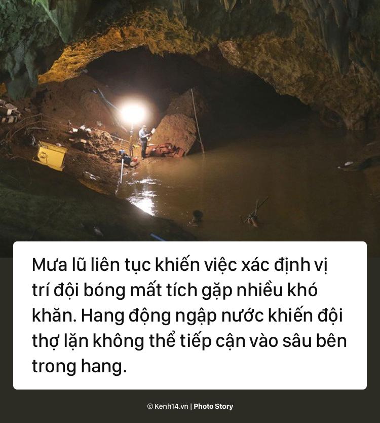 Những khó khăn chồng chất trong suốt nửa tháng giải cứu đội bóng Thái Lan - Ảnh 9.