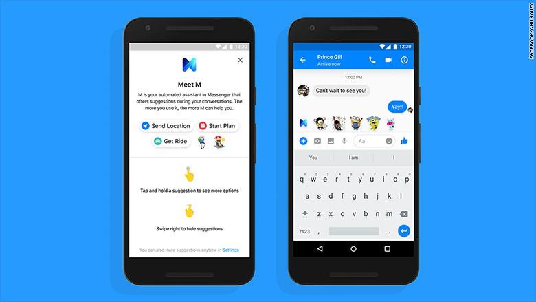 Facebook Messenger vừa có thêm cô M trợ lý ảo chuyên môn nói leo lời người khác