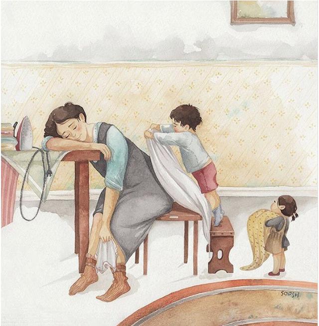 Mẹ và con gái: bộ tranh chạm đến những tình cảm ngọt ngào và bình dị nhất! - Ảnh 16.