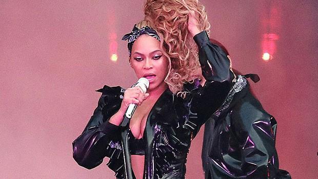 Ê-kíp phải mang thang ra giải cứu Beyoncé vì sự cố hi hữu trên sân khấu - Ảnh 2.