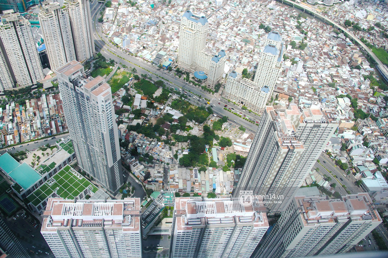 Chùm ảnh: Đứng ở tầng cao nhất Landmark 81, nhìn toàn cảnh Sài Gòn đẹp và bình yên đến thế! - Ảnh 10.
