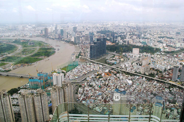 Chùm ảnh: Đứng ở tầng cao nhất Landmark 81, nhìn toàn cảnh Sài Gòn đẹp và bình yên đến thế! - Ảnh 9.