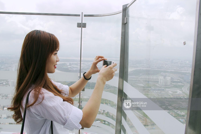Chùm ảnh: Đứng ở tầng cao nhất Landmark 81, nhìn toàn cảnh Sài Gòn đẹp và bình yên đến thế! - Ảnh 5.