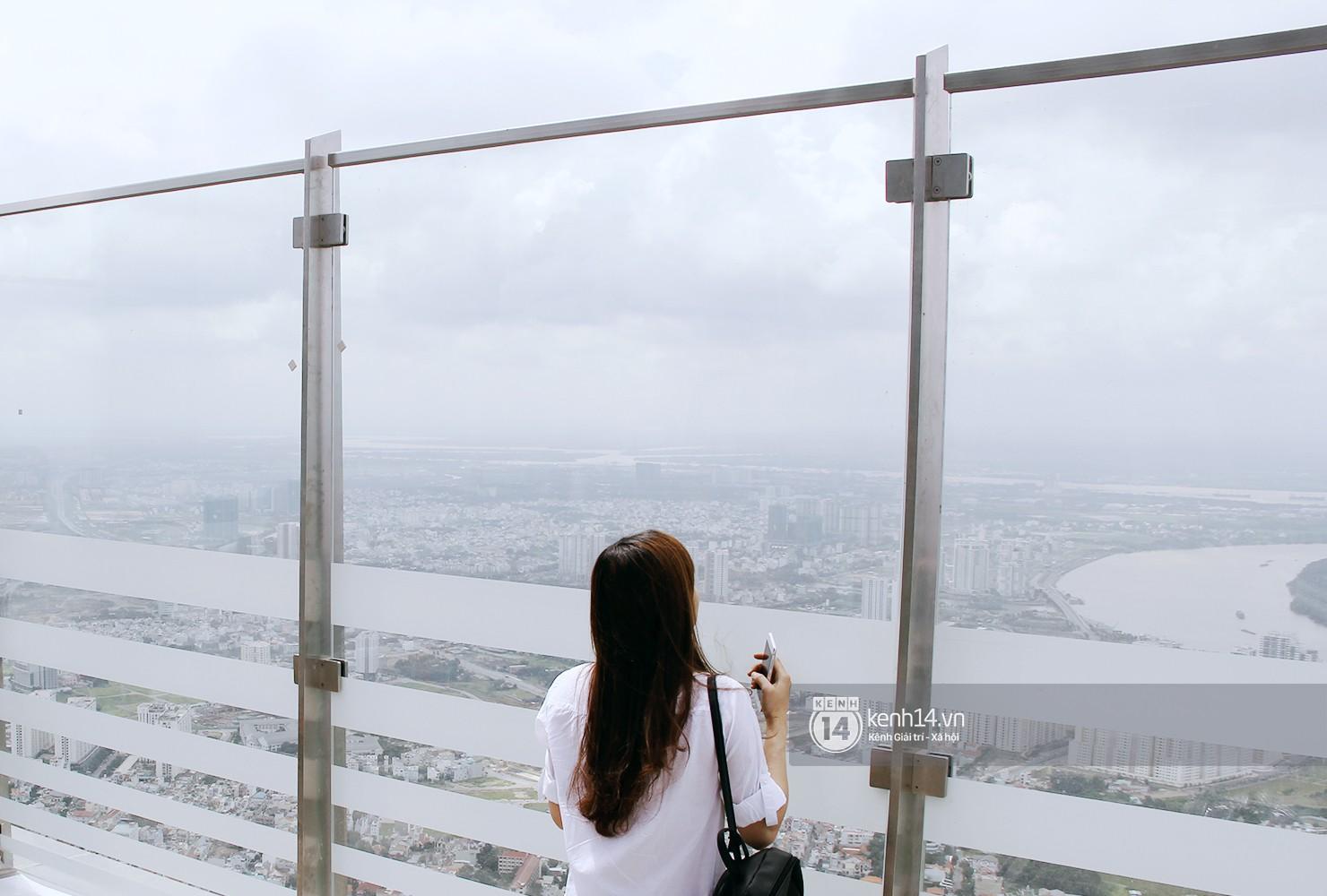 Chùm ảnh: Đứng ở tầng cao nhất Landmark 81, nhìn toàn cảnh Sài Gòn đẹp và bình yên đến thế! - Ảnh 3.