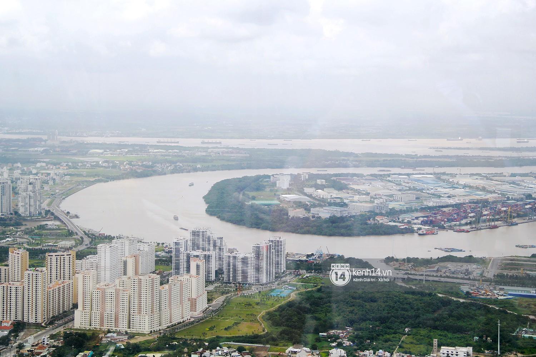 Chùm ảnh: Đứng ở tầng cao nhất Landmark 81, nhìn toàn cảnh Sài Gòn đẹp và bình yên đến thế! - Ảnh 11.
