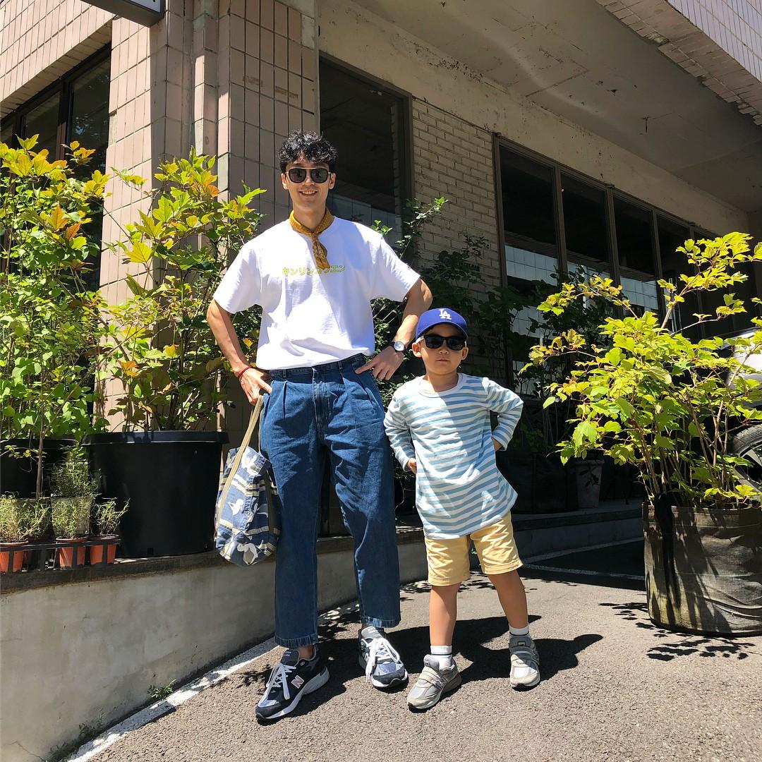 Thêm một cặp bố con Hàn Quốc làm dân tình ngây ngất: Ăn mặc thì chất, lại còn đẹp trai! - Ảnh 7.