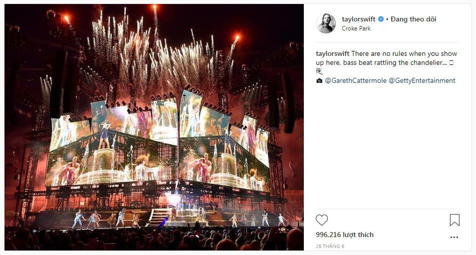6 lý do chứng minh reputation Stadium Tour là đỉnh cao trong sự nghiệp của Taylor Swift - Ảnh 1.