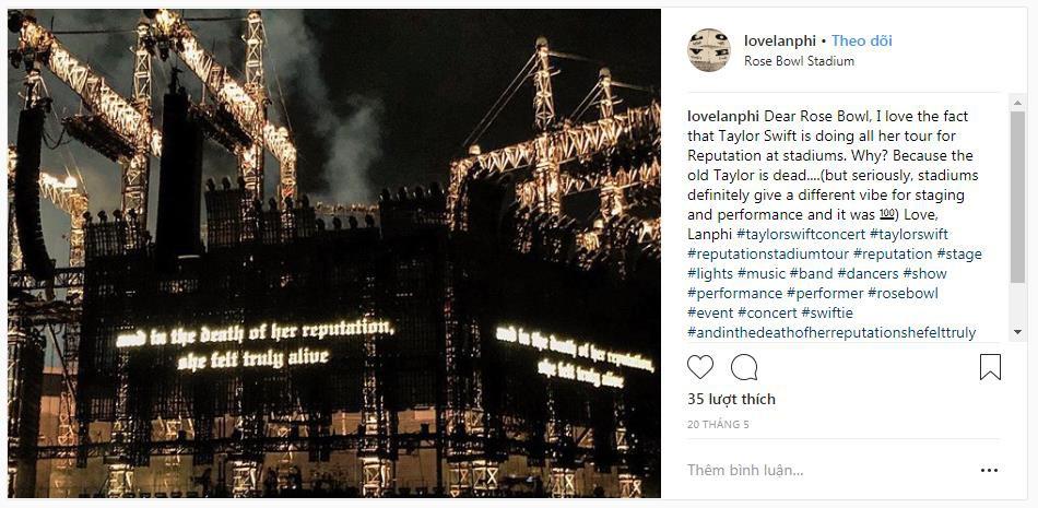 6 lý do chứng minh reputation Stadium Tour là đỉnh cao trong sự nghiệp của Taylor Swift - Ảnh 6.