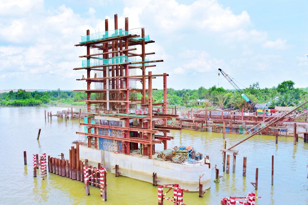 Chùm ảnh: Toàn cảnh sự bất động của loạt công trình chống ngập ở Sài Gòn vì... thiếu vốn, không còn bóng công nhân - Ảnh 6.