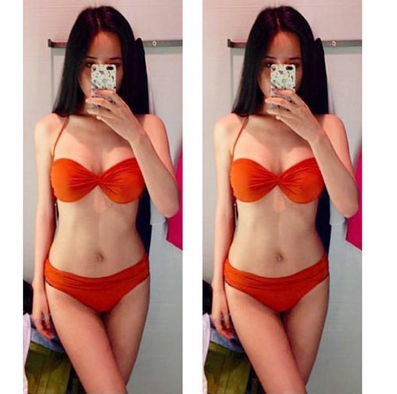 Mai Phương Thúy khoe ảnh diện bikini với body 0% mỡ thừa, nhưng sự