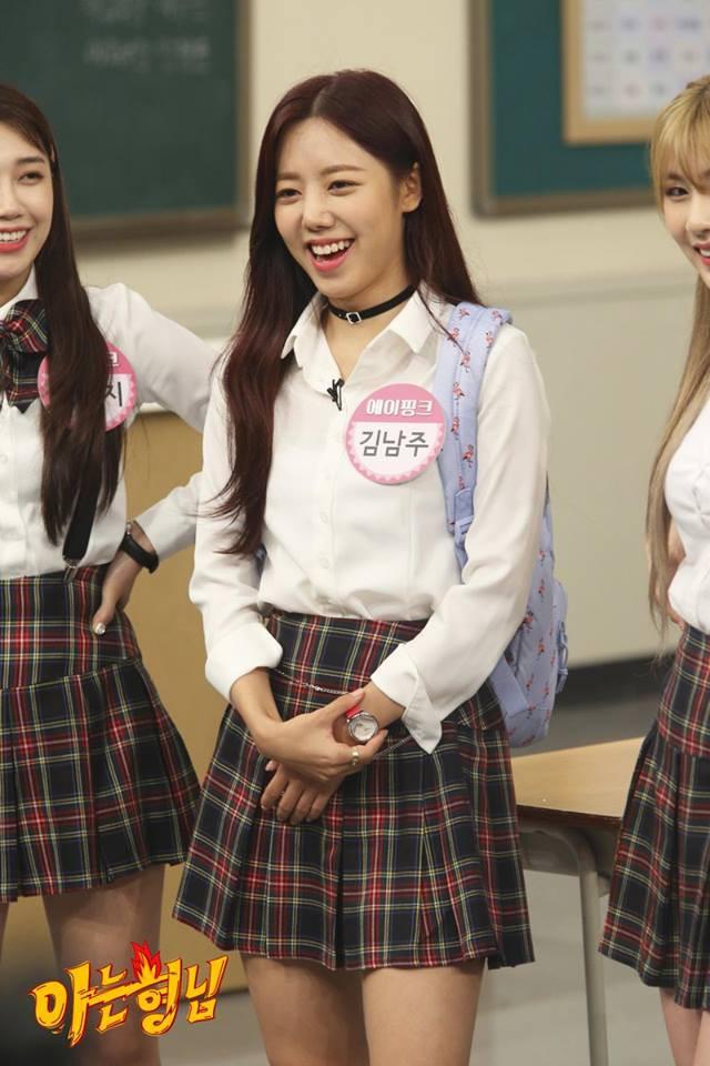 Thành viên A Pink nào thay đổi nhiều nhất qua các show thực tế?