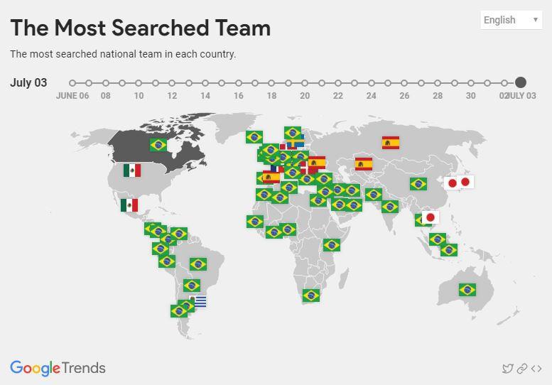 Chuyện lạ mùa bóng: Top 10 quốc gia tìm kiếm World Cup trên Google thì không hề dự giải, Brazil và Nga thậm chí còn bét bảng - Ảnh 9.